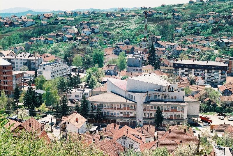 Поглед на град
